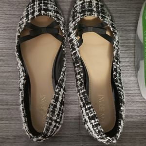 Shoes - Pointed toe houndstooth shoes